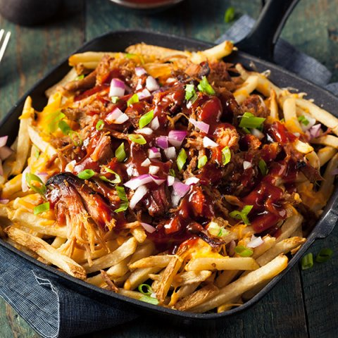 Pulled Pork met frites